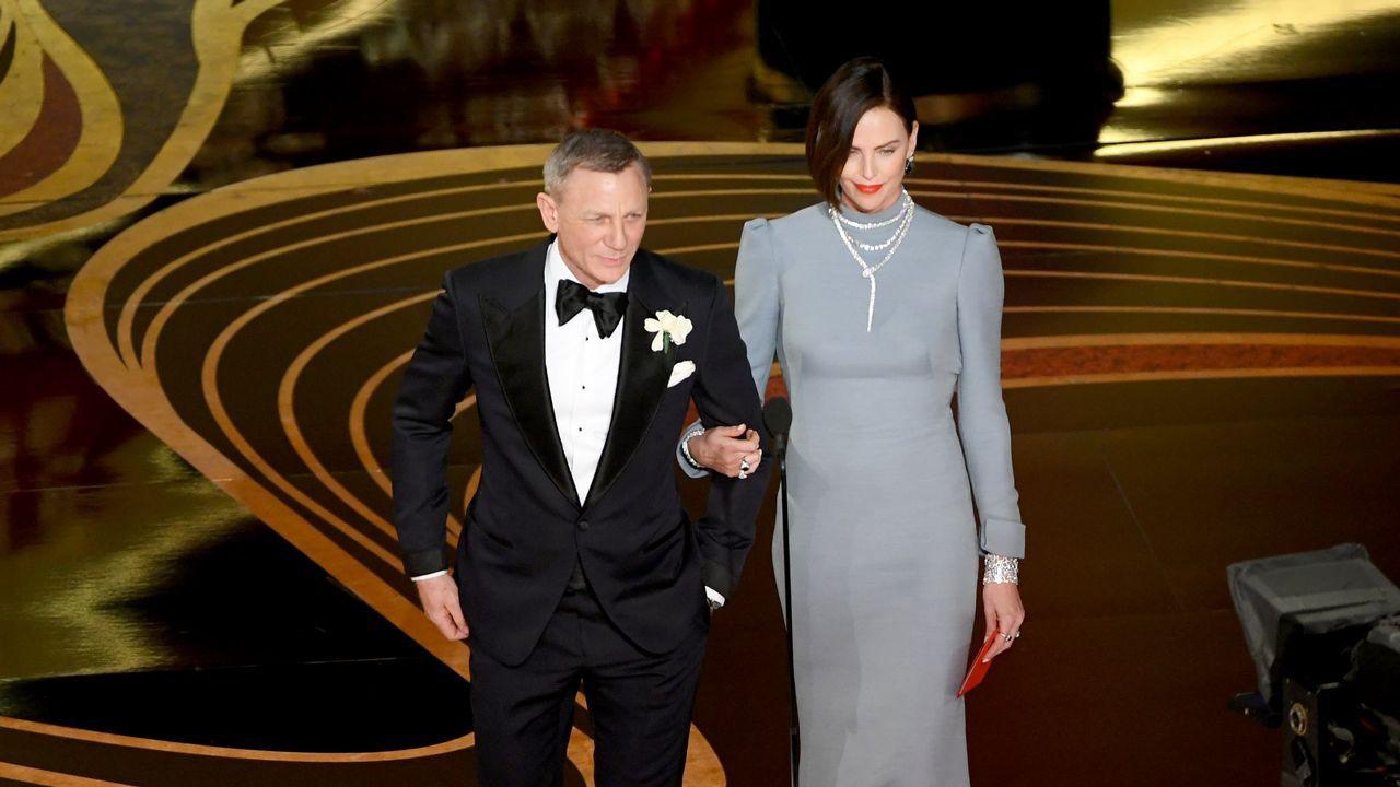 Daniel Craig y Charlize Theron