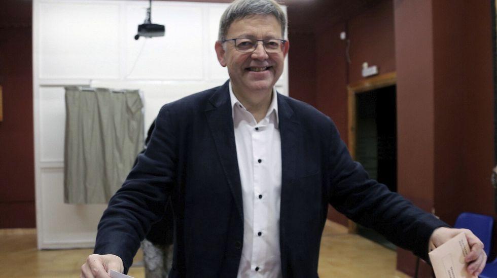 .El president de la Generalitat valenciana, Ximo Puig