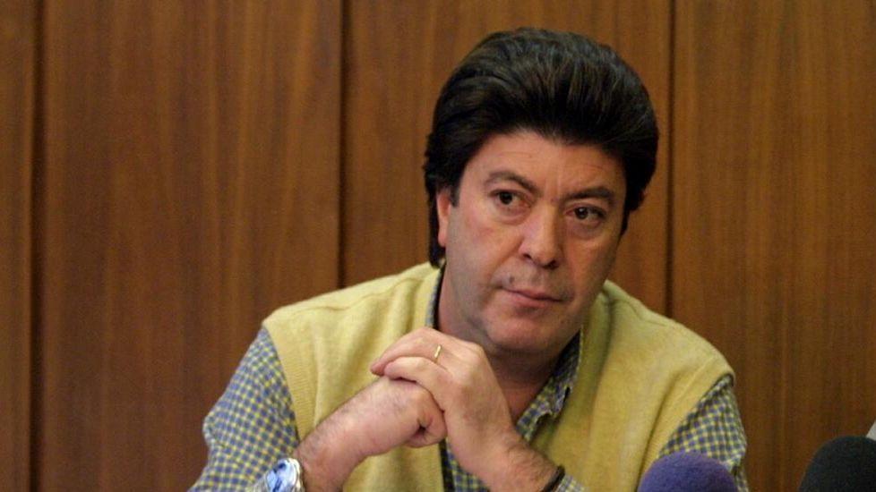 César Ansias en una foto del año 2000