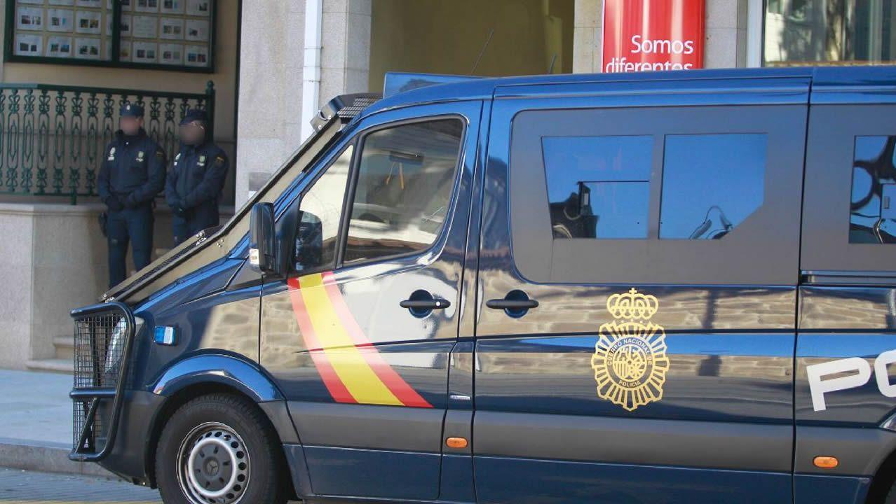 Registros en Galicia porla macrooperación antidroga