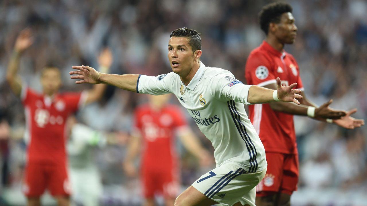 Las mejores imágenes del Bayern - Real Madrid.Alineaciones del Real Madrid - Bayern