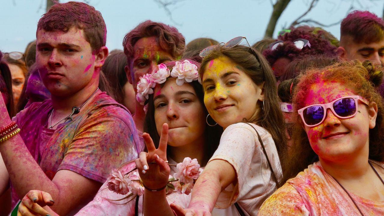 Holi Life, carrera de colores en Samil.