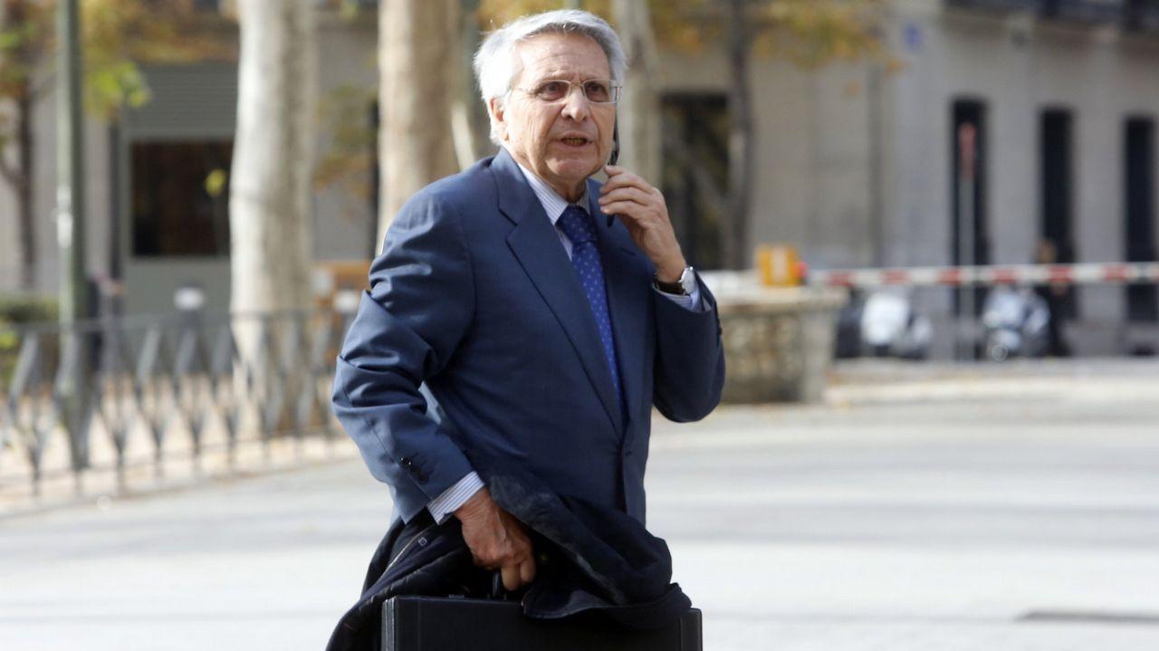 Fernández Gayoso, condenado a dos años por el caso de las jubilaciones millonarias. Entró en prisión en enero del 2017 y salió en agosto de ese mismo año. Tiene tres causas pendientes.
