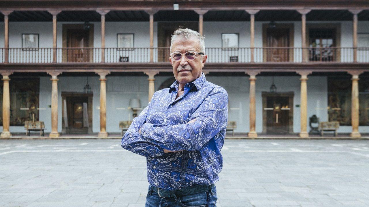 .El director de escena Emilio Sagi en el Hotel Reconquista de Oviedo
