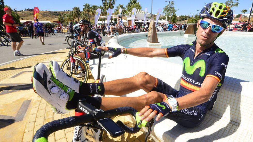 La etapa reina de La Vuelta, en fotos.Froome agrede a un aficionado durante la etapa en el Tour