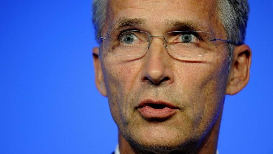 .El nuevo secretario general de la OTAN, Jens Stoltenberg.