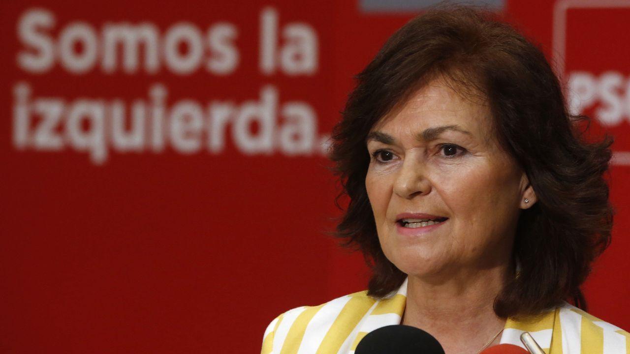 La exministra de Cultura Carmen Calvo será la vicepresidenta del Gobierno y ministra de Igualdad