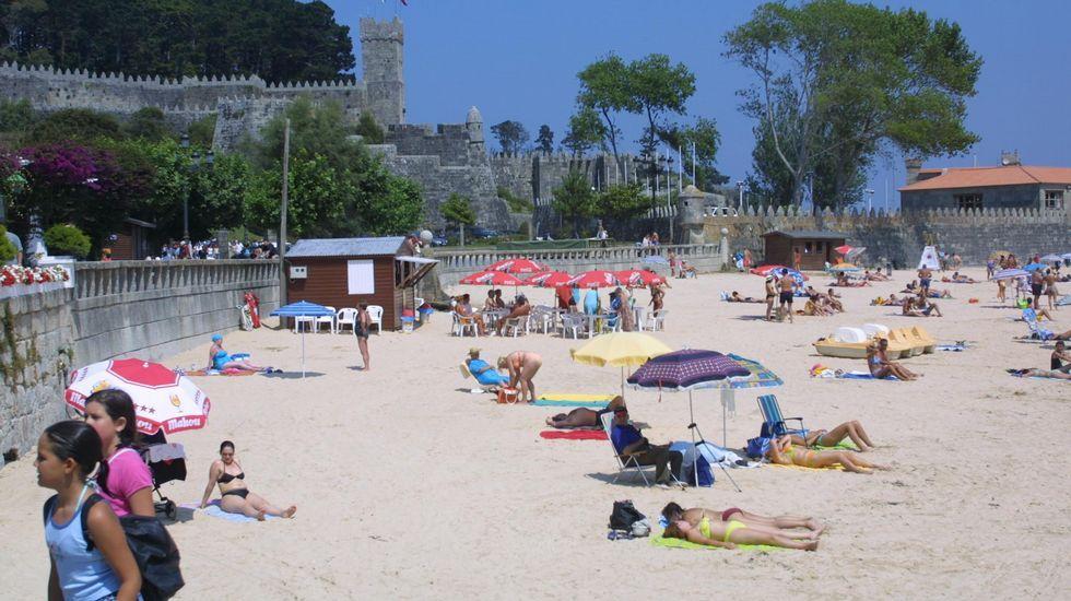 Playa de Ribeira, Baiona