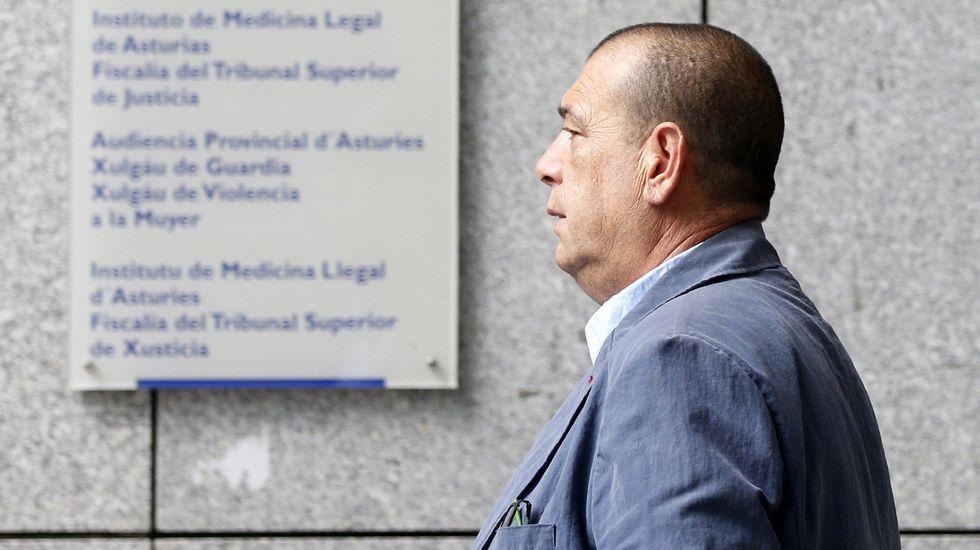 .Postigo, a su llega a la Sección Tercera de la Audiencia Provincial de Oviedo