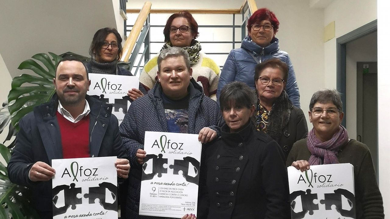 Alfoz se solidariza contra el cáncer.Exposición de Quesada el año pasado