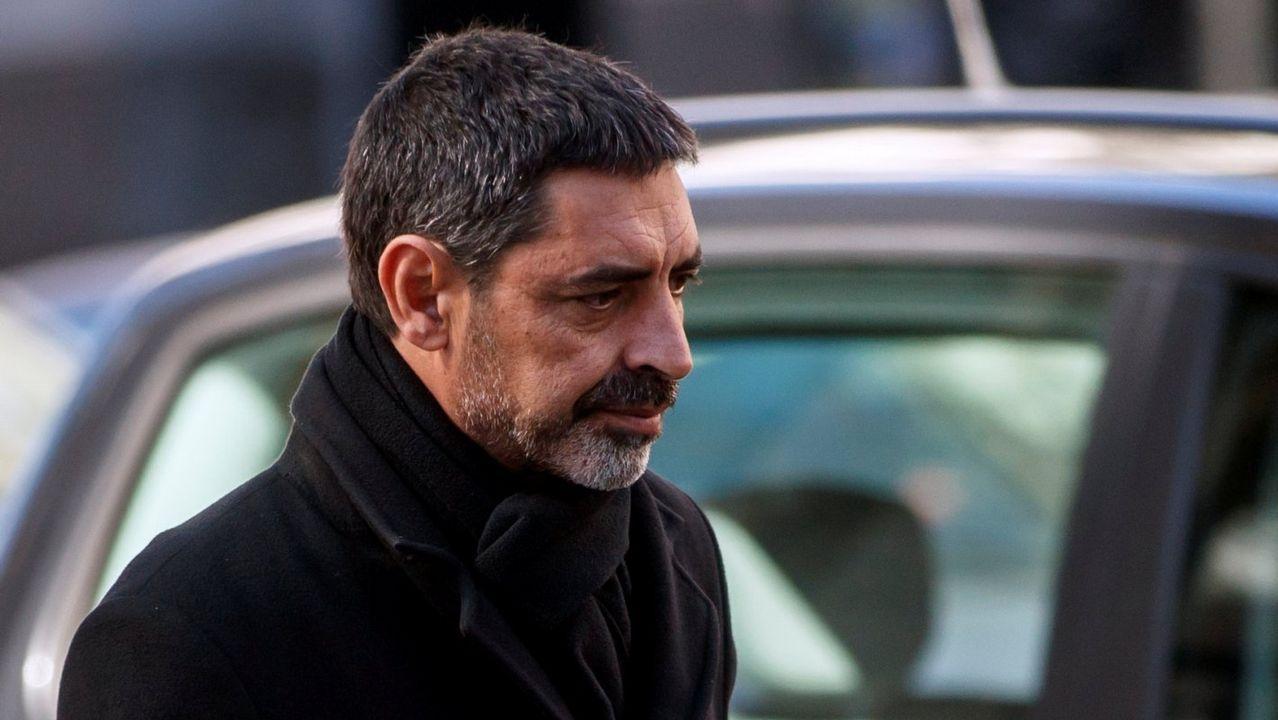 19. JOSEP LLUIS TRAPERO. Jefe de los Mossos d'Esquadra durante el 1-O. 11 años de prisión y otros tantos de inhabilitación absoluta por rebelión.