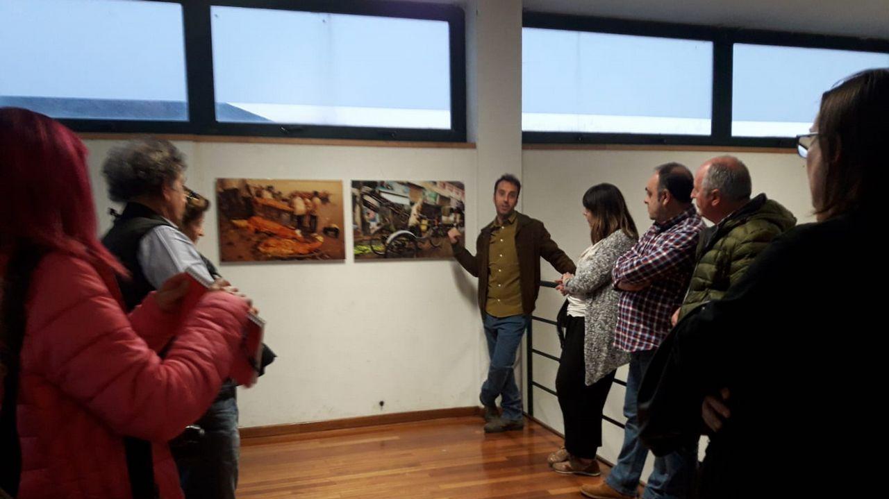 Inauguración de la exposición «Auga. O sangue da terra»
