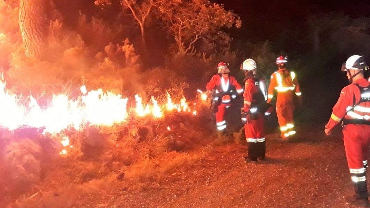 El incendio de Llutxent fue uno de los más devastadores del año pasado