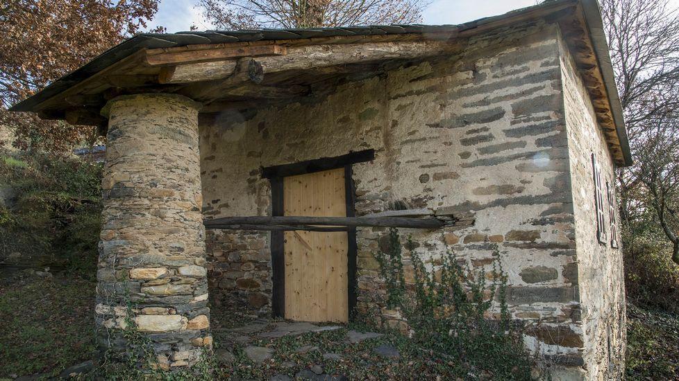 El molino de Marcos se encuentra en las cercanías de la iglesia