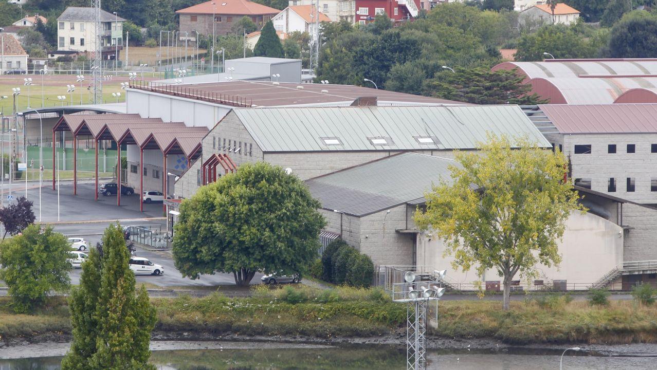 Una tromba de agua provoca pequeñas inundaciones en Vilagarcía.Ayuntamiento de Mieres