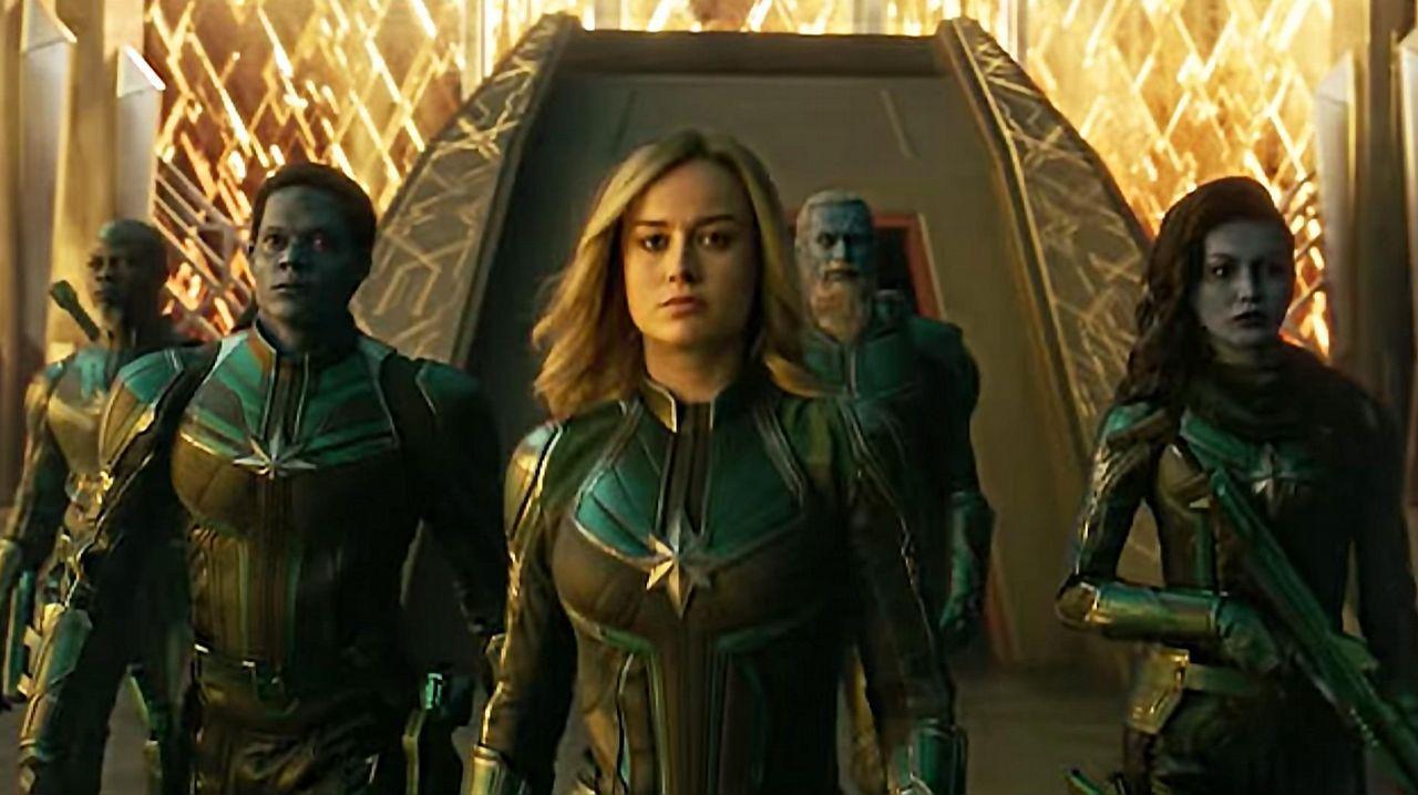 «Capitana Marvel» está funcionando muy bien en taquilla