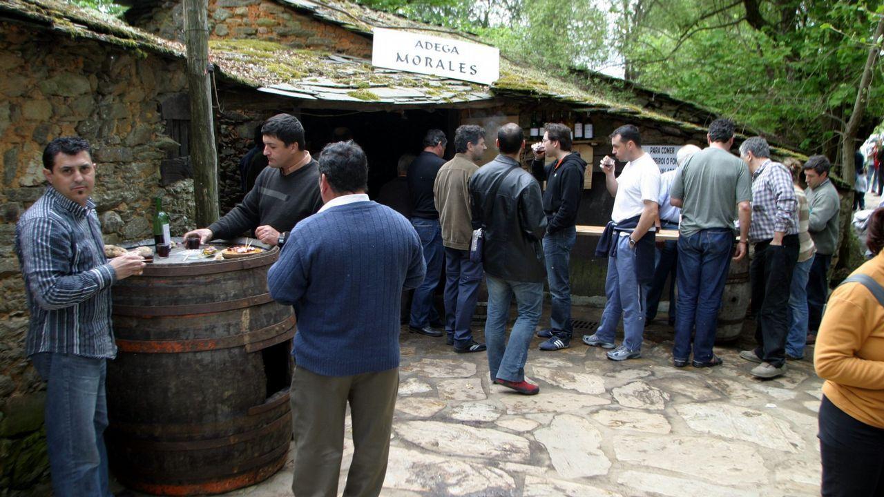 Las imágenes de la Feira do Viño de Vilachá
