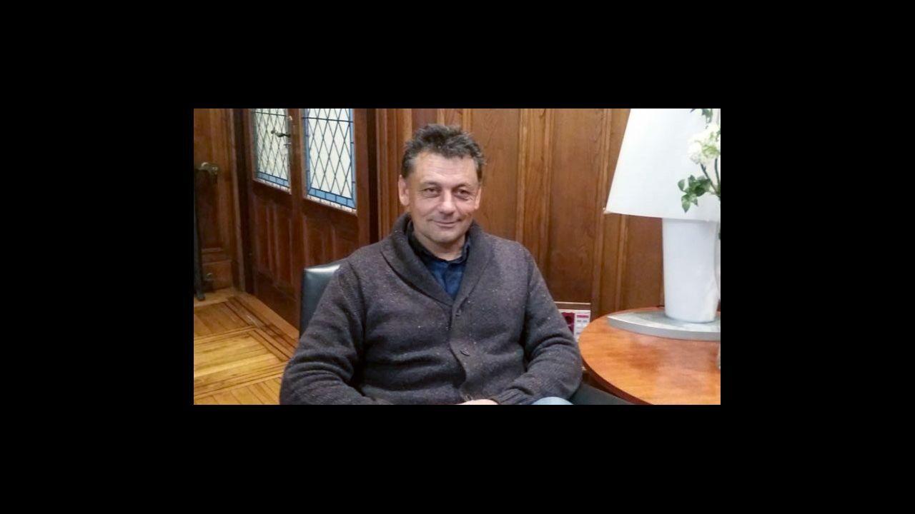 Atasco en el acceso a Oviedo.Javier Ardines era el concejal de Empleo del Ayuntamiento de Llanes