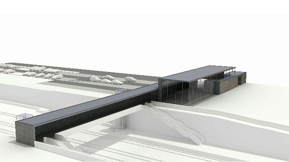 .Proyecto de la estación de Otero de Sanabria
