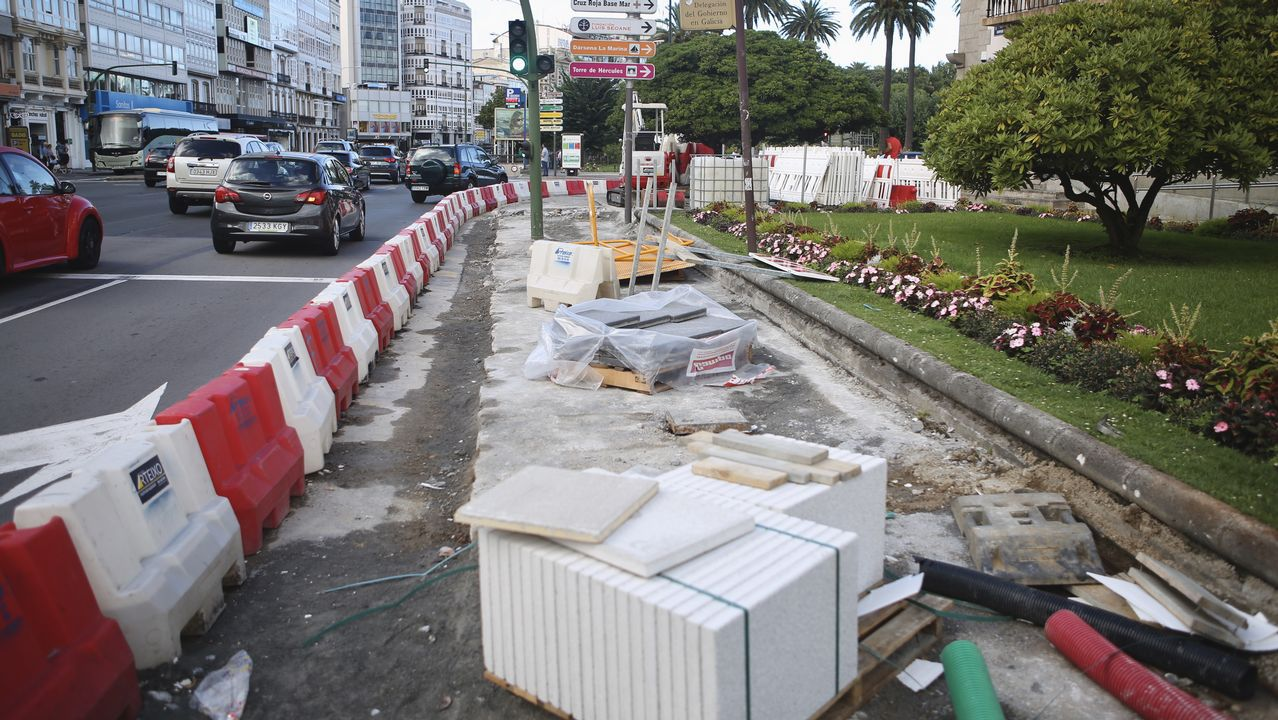 El Ayuntamiento dice que las obras de la plaza de Ourense se ...