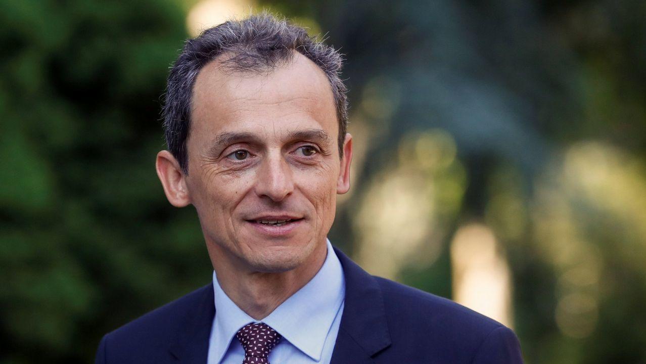 Pedro Duque: «da miedo que te puedan sacar cosas de la infancia».Duque, hoy en Bruselas