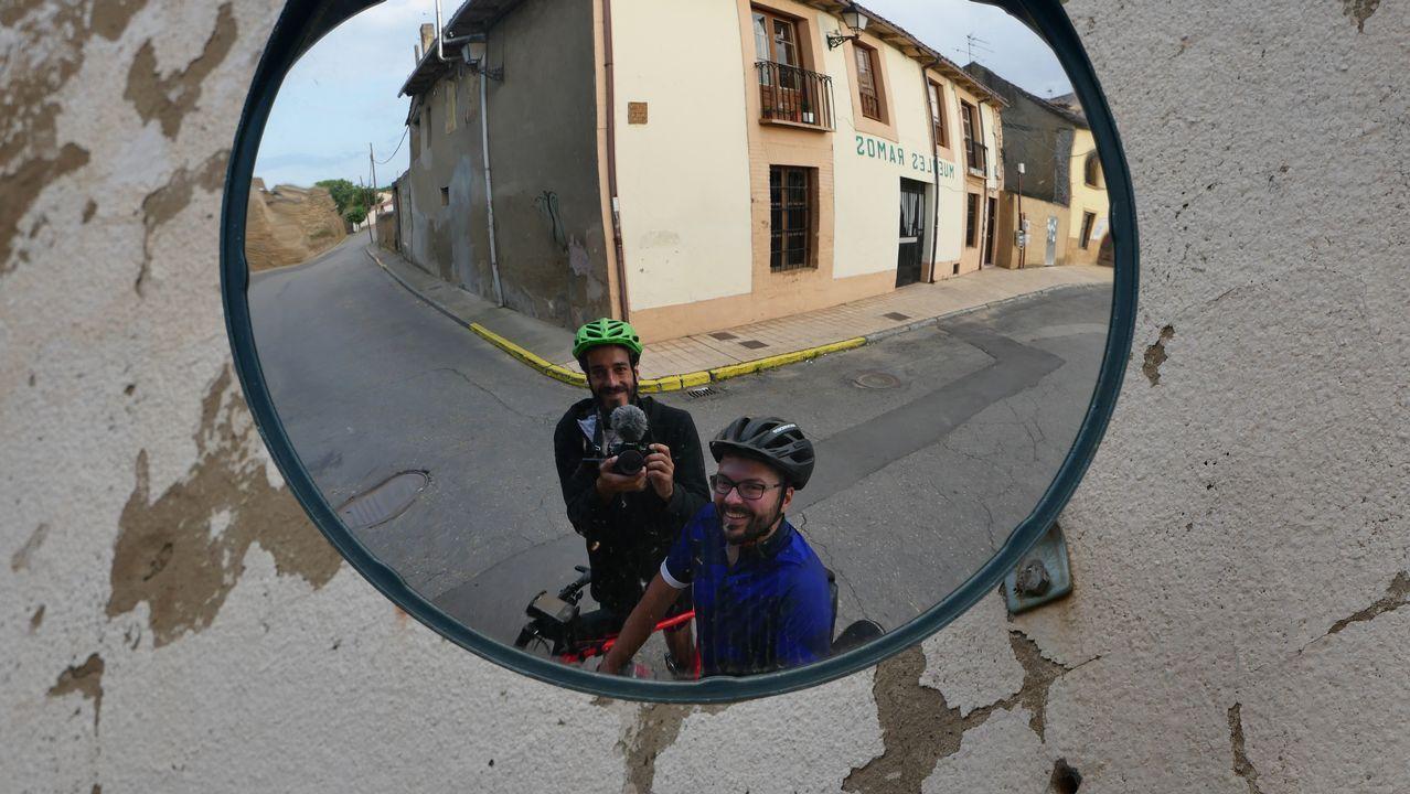 .Senén Rouco y Iago García, en Mansilla de las Mulas