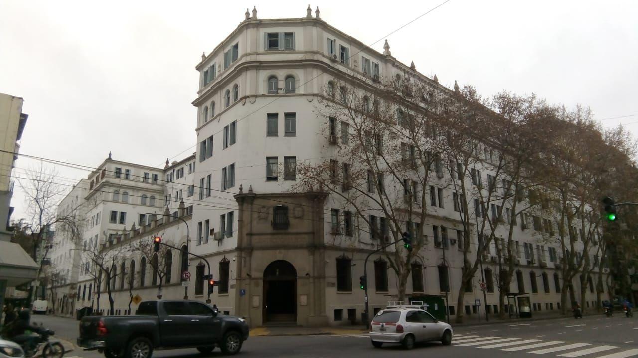 Fachada del Centro Gallego de Buenos Aires