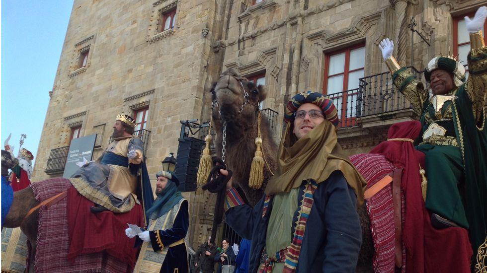 Los Reyes Magos, en la plaza del Marqués