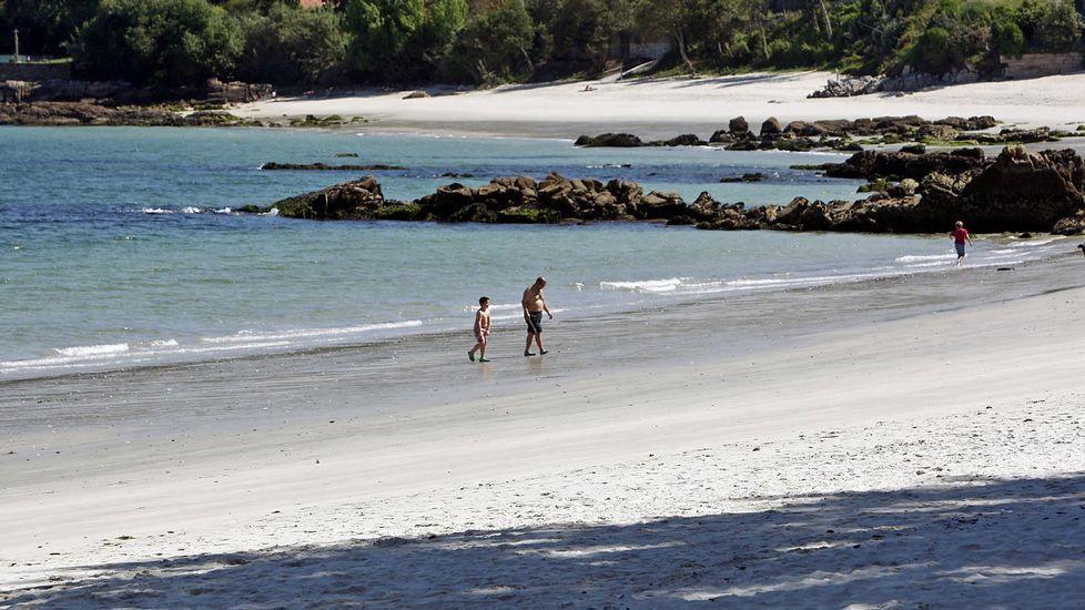 Marín. Playa de Aguete