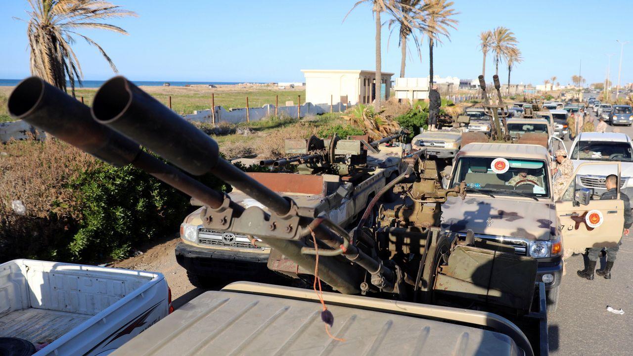 Exposición de Playmobil en Siero.Las fuerzas de Misrata comenzaron a llegar a Trípoli para ayudar a las tropas leales al Gobierno apoyado por la ONU