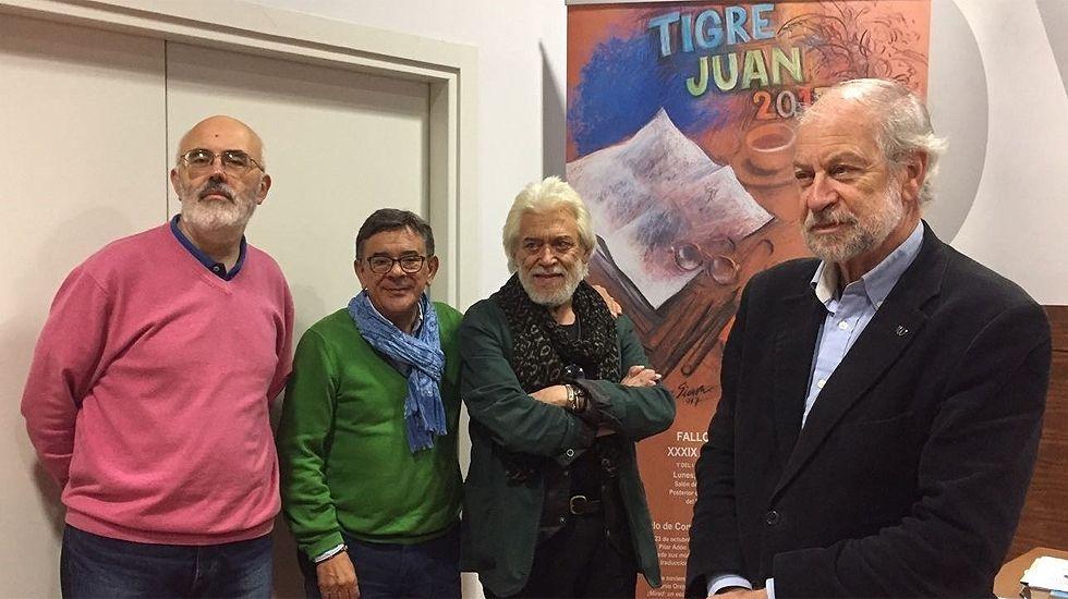 Un momento de la presentación de los finalistas del XXXIX Premio 'Tigre Juan'