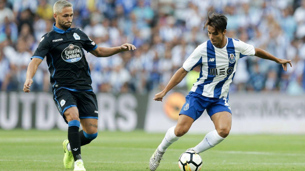 Las mejores imágenes del Oporto - Deportivo.