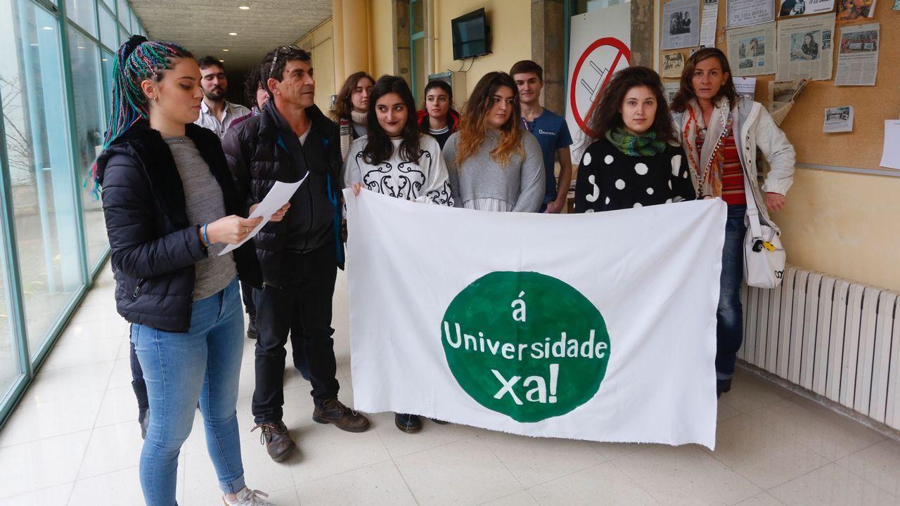 Un simulador forestal para los alumnos del Ies de Mondoñedo.Antonio Estévez es el primer presidente de USIE Galicia