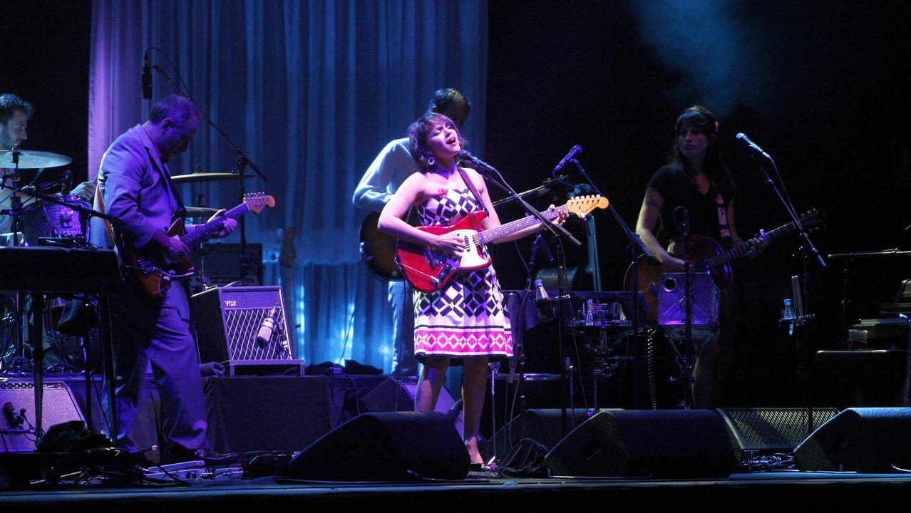 .Norah Jones es uno de los atractivos del festival Noches del Botánico en Madrid, de 21 de junio a 29 de julio