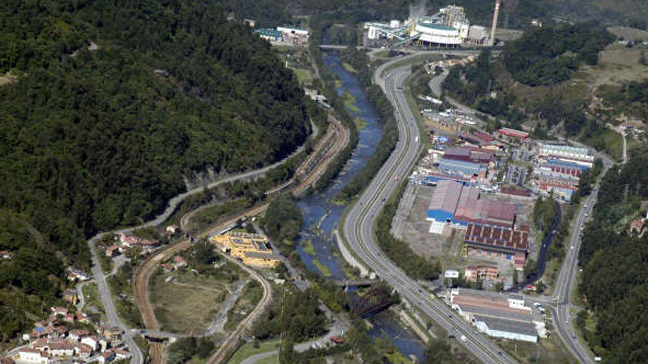 .Polígono Industrial Fábrica de Mieres