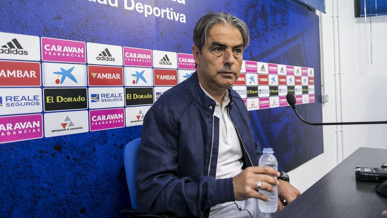 Anquela Almeria Real Oviedo Carlos Tartiere.José Ramón Sandoval