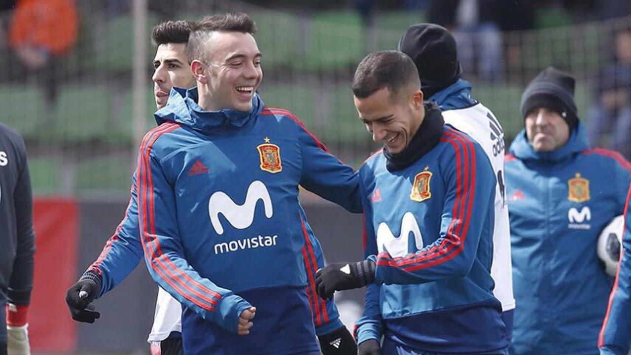 Iago Aspas y Lucas Vázquez, dos gallegos en el Mundial.