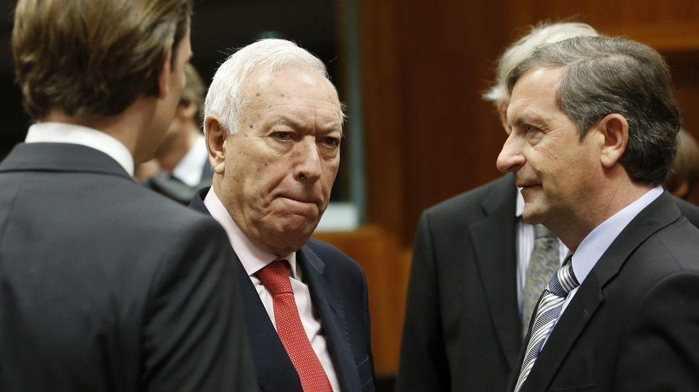 José Manuel García-Margallo participó en la cumbre extraordinaria de ministros de Exteriores de la UE.