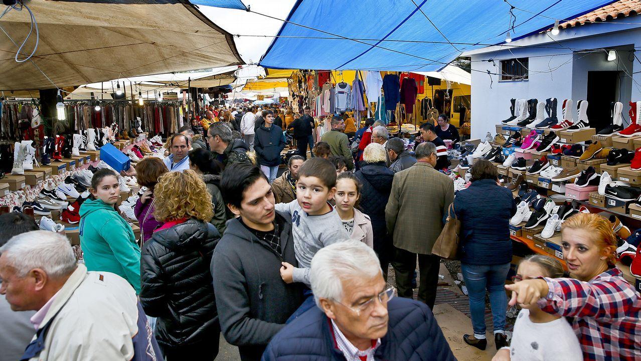 Las imágenes de la invasión gallega en Valença