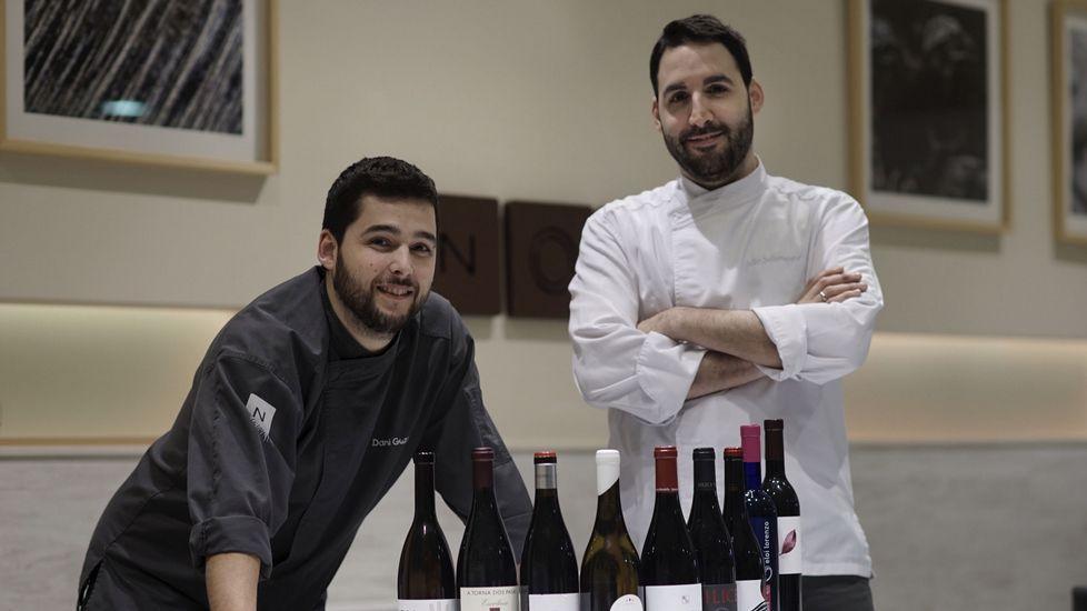 «En nuestra carta hay 70 vinos, todos de Galicia»