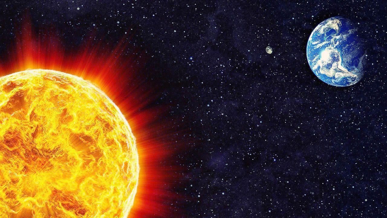 Venus y Júpiter afectan al clima de la Tierra.El acceso al pueblo de La Raya, el último entre Asturias y León