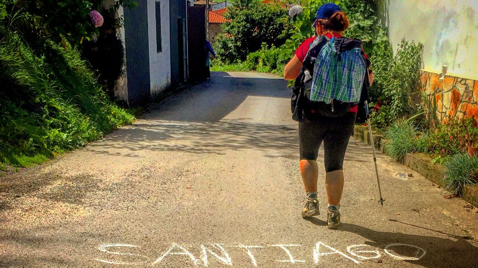 El Camino, a su paso por Llamas