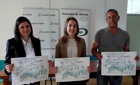Rocío Mosquera, Margarita Campos y Manuel Fernández Alén.