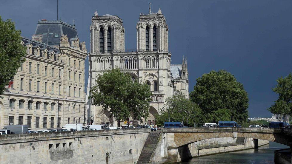 El ataque en Notre Dame, en imágenes.