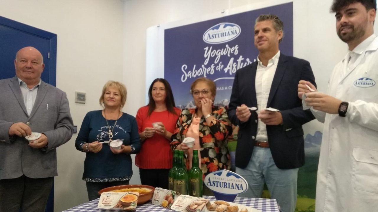 Presentación de los nuevos productos de Central Lechera Asturiana en Siero