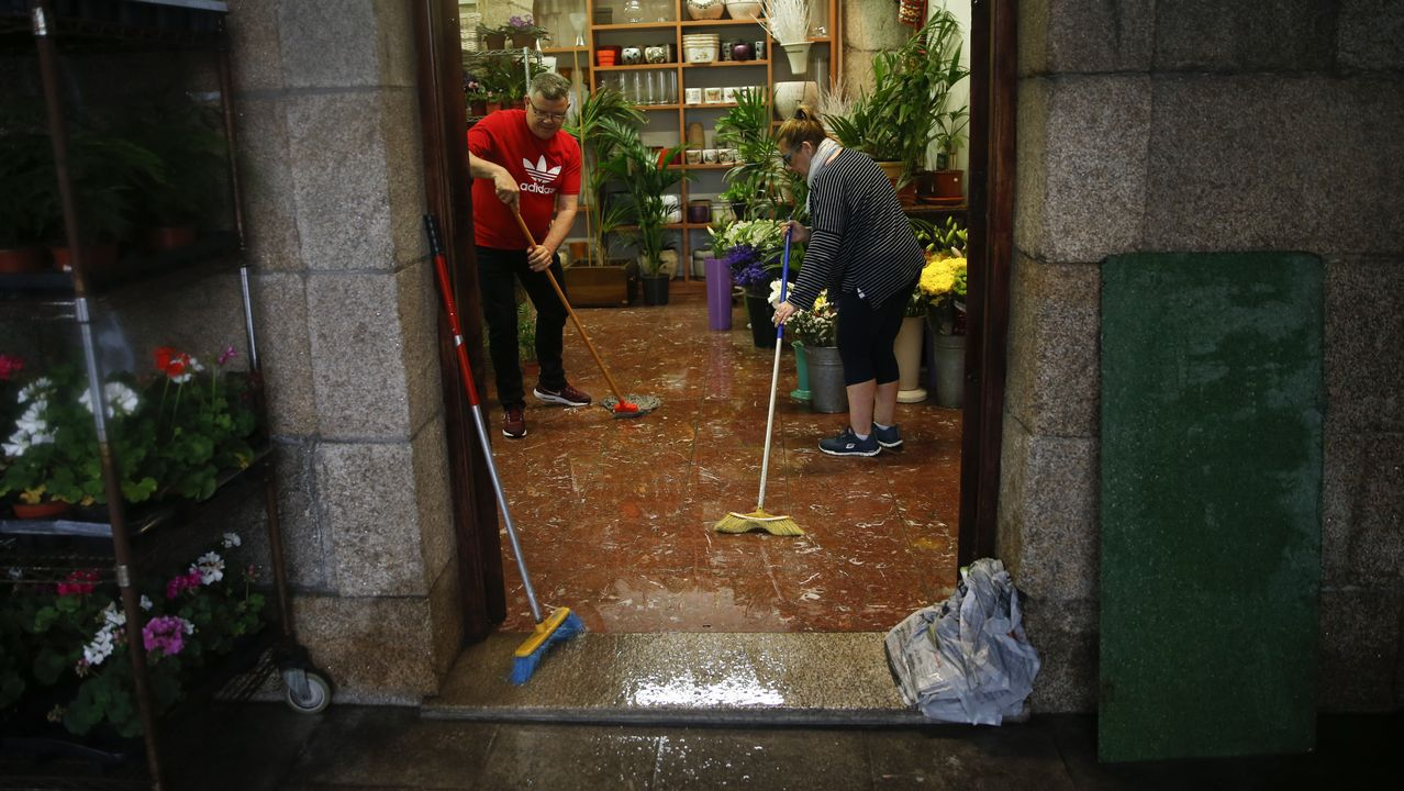 Inundaciones en A Coruña.INUNDACIONES EN CORUÑA