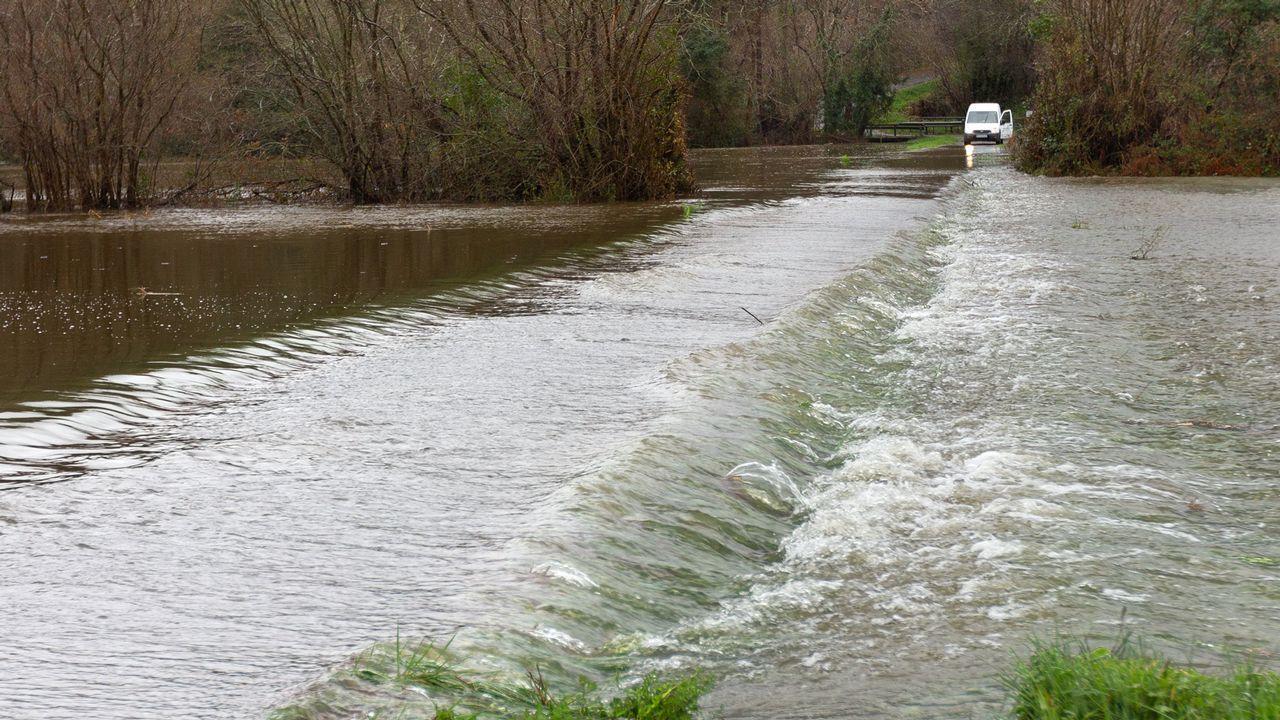 río Xuvia a su paso por San Sadurniño