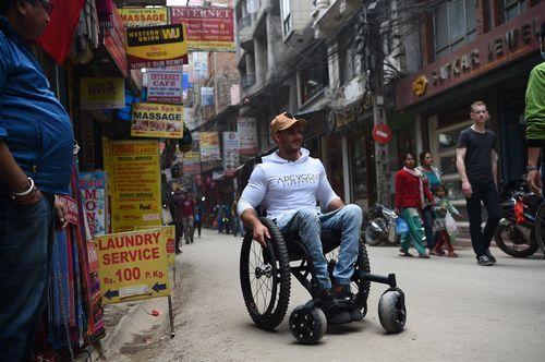 El parapléjico que quiere conquistar el Everest
