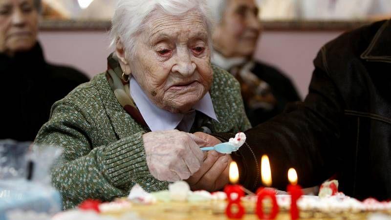 Así celebró los 108 años Josefa