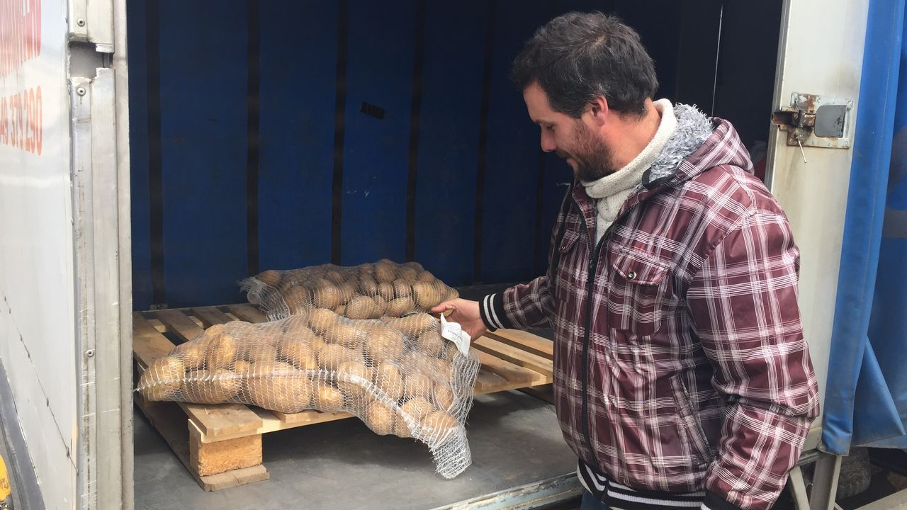 El recipiente estaba escondido entre la vegetación